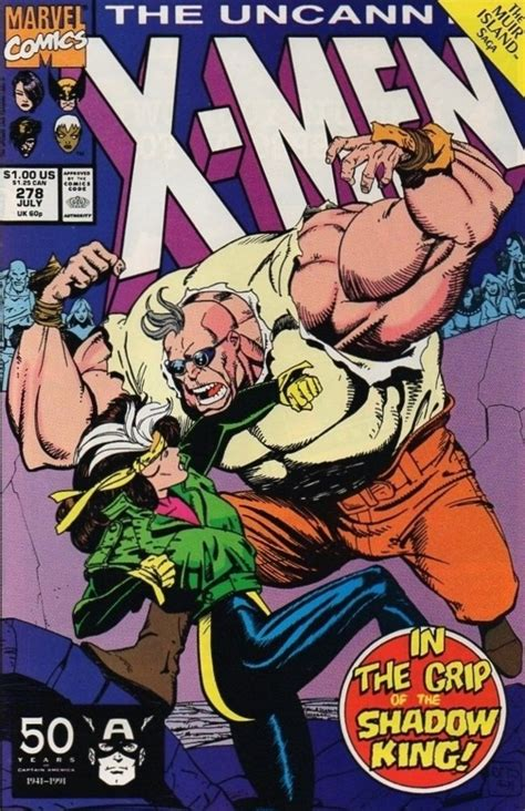 The Uncanny X Men No 278 The Battle Of Muir Island