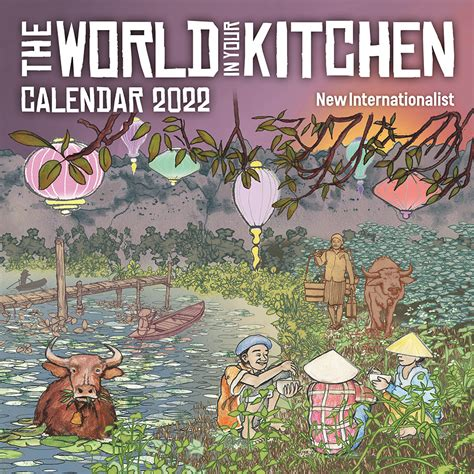 The World In Your Kitchen Calendar 2011
