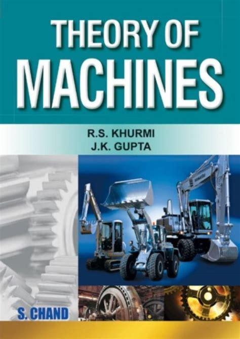 Theory Of Machine R S Khurmi (ePUB/PDF)