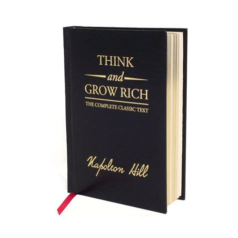Think And Grow Rich Deluxe Edition The Complete Classic Text