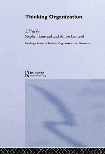 Thinking Organization Linstead Stephen Linstead Alison (ePUB/PDF)