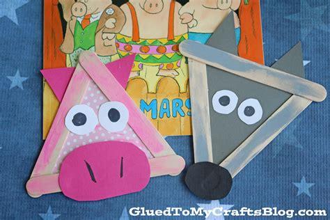 Three Little Pigs Popsicle Stick Puppets (ePUB/PDF)
