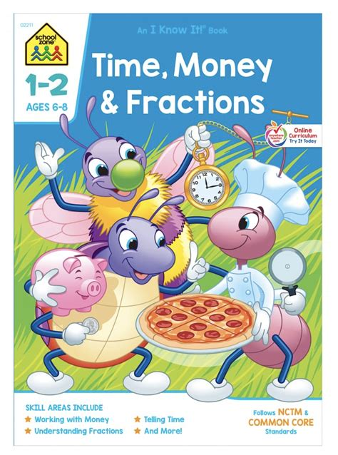 Time Money Fractions Grades 1 2 An I Know It Book (ePUB/PDF)