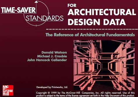 Time Saver Standards For Architectural Design Data Network (ePUB/PDF
