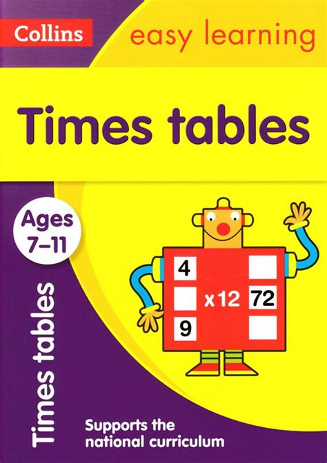 Times Tables Flashcards Collins Easy Learning KS2