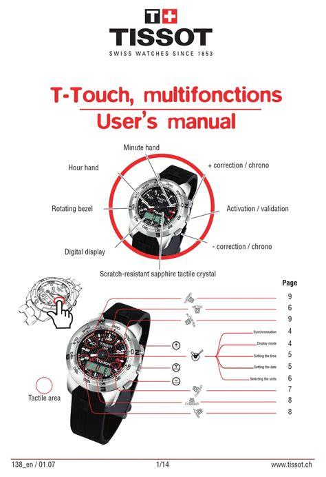 Tissot T Touch 2 Manual (ePUB/PDF)
