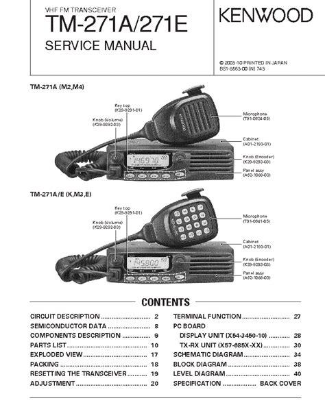 Tm 271a Manual (ePUB/PDF)
