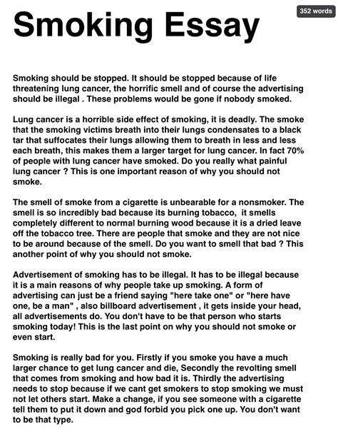 essay on tobacco   dako group