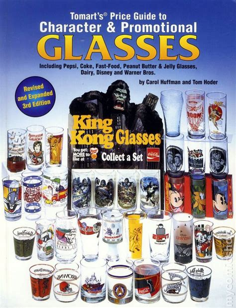 Tomarts Price Guide To Character Amp Promotional Glasses Including