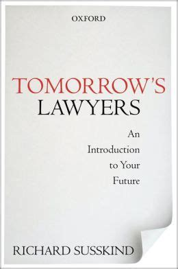 Tomorrows Lawyers An Introduction To Your Future