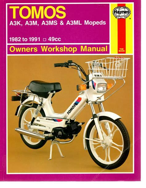 Tomos Streetmate Service Manual (ePUB/PDF) Free