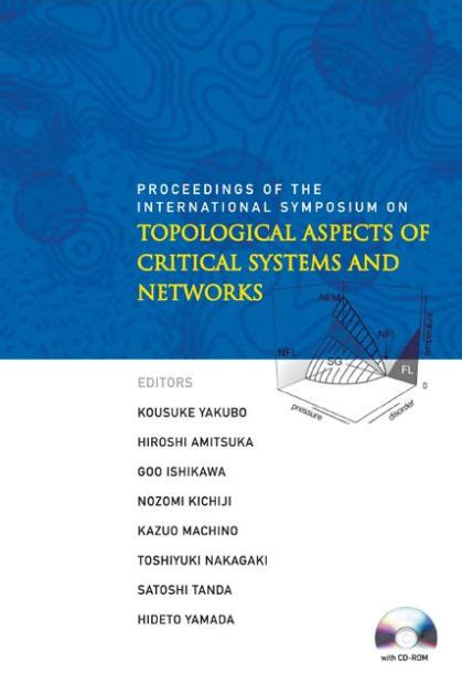 Topological Aspects Of Critical Systems And Networks Yakubo