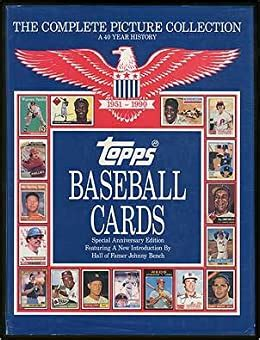 Topps Baseball Cards The Complete Picture Collection A 40 Year History 1951 1990
