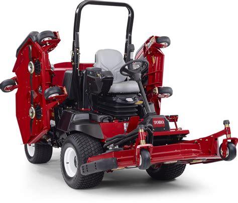 Toro Groundsmaster 4000 D 4010 D Large Area Rotory Mower Repair
