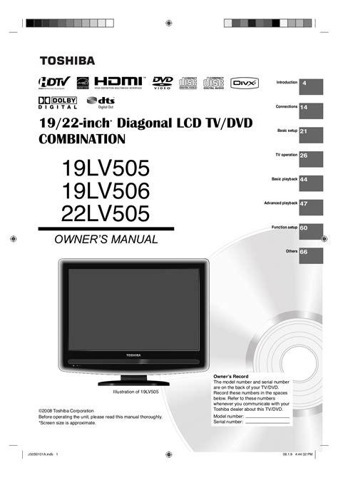 Toshiba Manuals Online (ePUB/PDF) Free