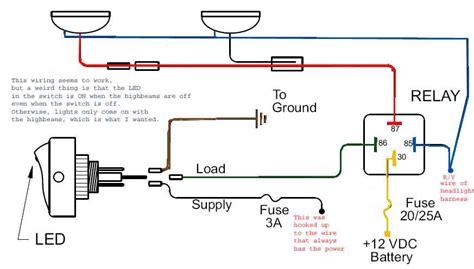 toyota tacoma fog light wiring diagram