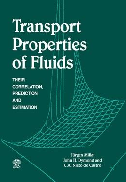 Transport Properties Of Fluids Millat Jrgen Dymond J H Wakeham W A