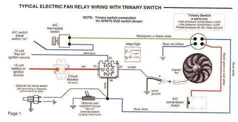 Trinary Switch Wiring Diagram With Two Electric Fans (ePUB/PDF) Free