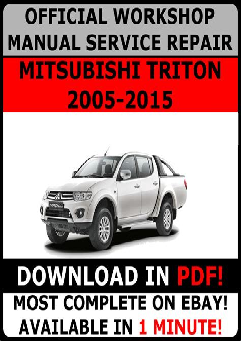 Triton Service Manual (ePUB/PDF) Free