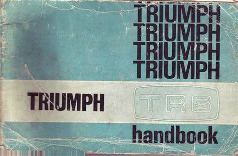Triumph Tr6 Manual Epubpdf