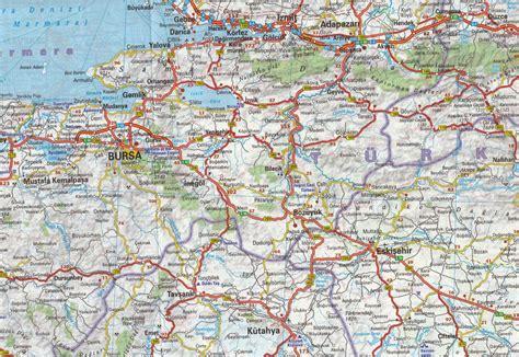 Turkey Map By Michelin Carte Détaillée Turquie Plan