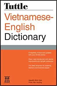 Tuttle Vietnamese English Dictionary Completely Revised And ...