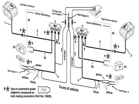 signal stat wiring diagram images typical snow plow headlight wiring schematic