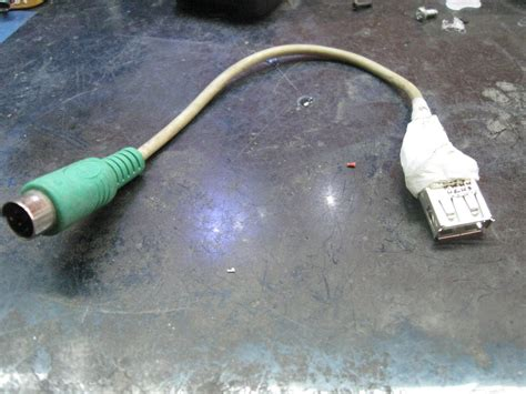 convert ps keyboard to usb wiring diagram images wiring diagram usb to ps 2 convertor 2 steps instructables