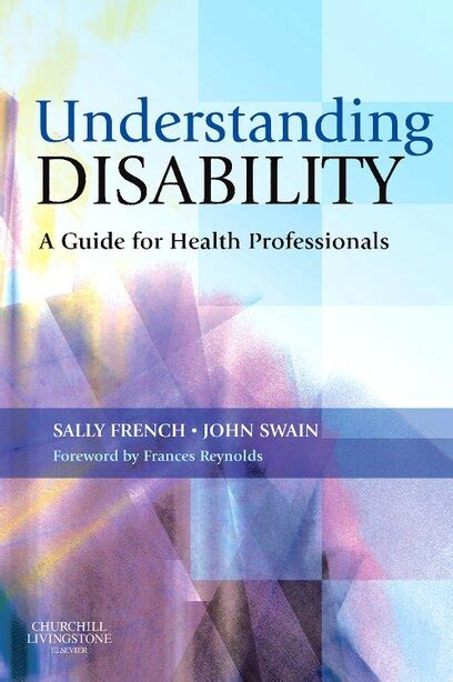 Understanding Disability A Guide For Health Professionals