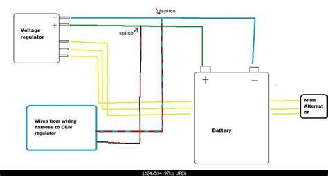 universal voltage regulator wiring diagram