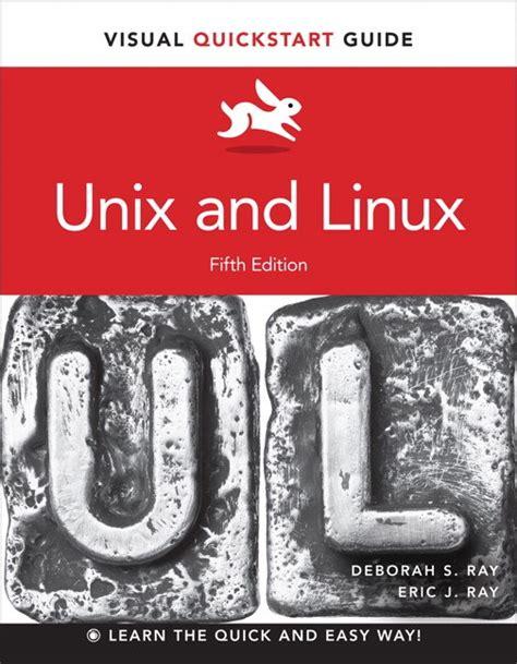 Unix And Linux Visual Quickstart Guide (ePUB/PDF) Free
