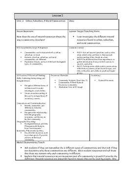 Urban And Rural Lesson Plans Grade 3 (ePUB/PDF)