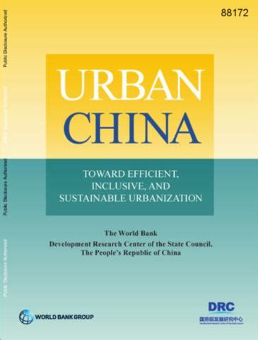 Urban China Toward Efficient Inclusive And Sustainable Urbanization
