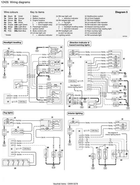 vauxhall engine wiring diagram