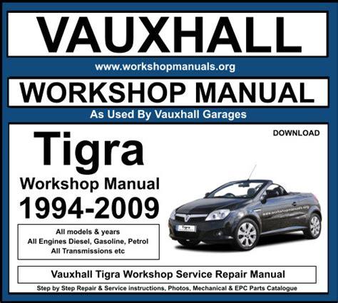 Vauxhall Tigra Repair Manual (ePUB/PDF) Free