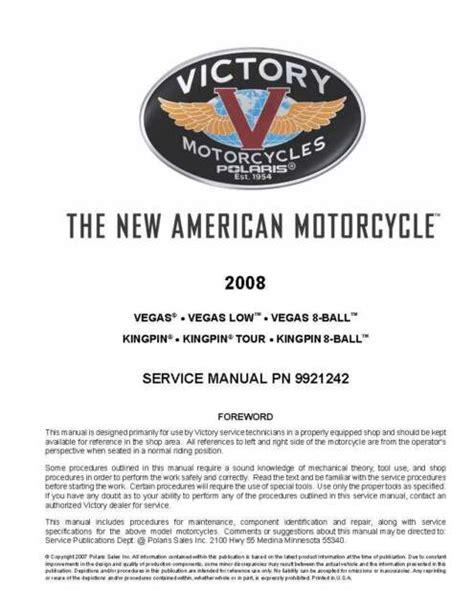 Victory Service Manual (ePUB/PDF) Free