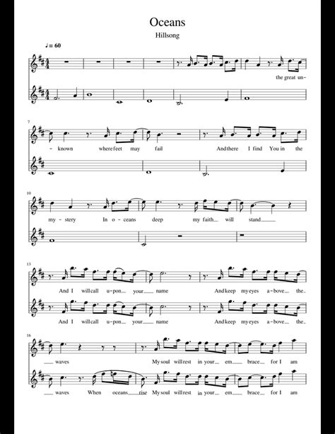 Violin Notes For Oceans Hillsong (ePUB/PDF) Free