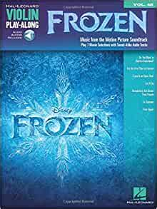 Violin Play Along Volume 48 Frozen