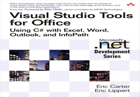 Visual Studio Tools For Office 2007 Carter Eric Lippert Eric (ePUB