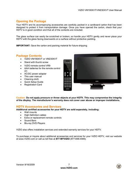 Vizio Manual For Tv (ePUB/PDF)
