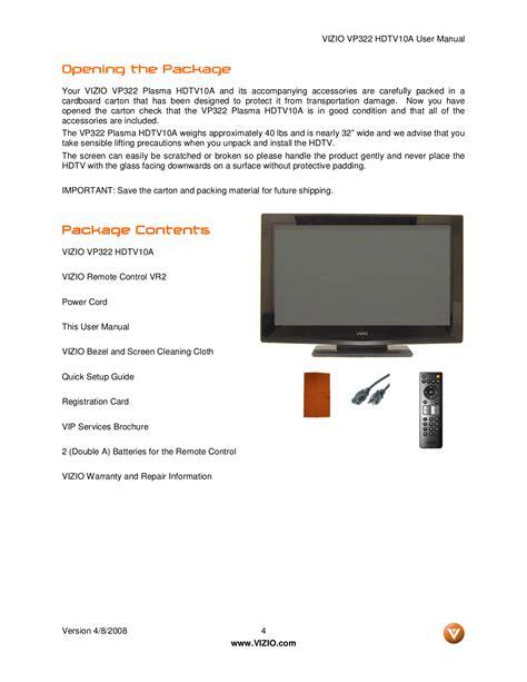 Download Vizio Television Manual From server2ramd cosvalley de