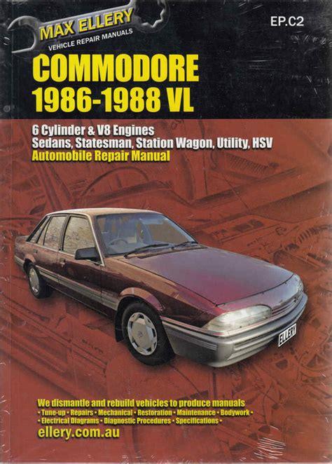 Vl Commodore Workshop Manual (ePUB/PDF)