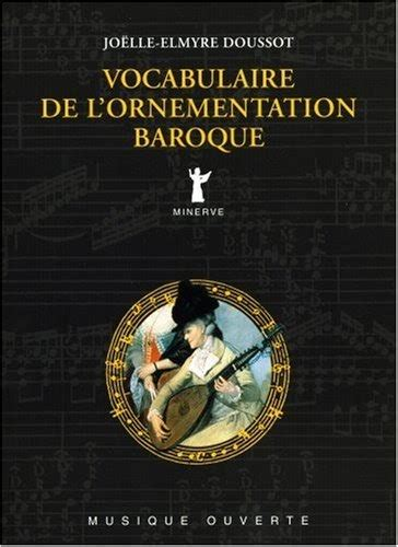 Vocabulaire De Lornementation Baroque