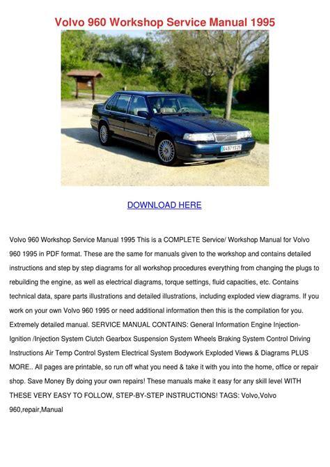 Fine Volvo 960 Manual Epub Pdf Wiring Digital Resources Sapredefiancerspsorg
