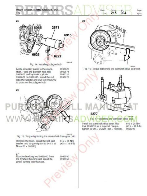 Volvo D12 Starter Replacement