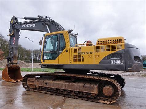 Volvo Ec360c L Ec360c Nl Ec360cl Ec360cnl Excavator Service Parts ...