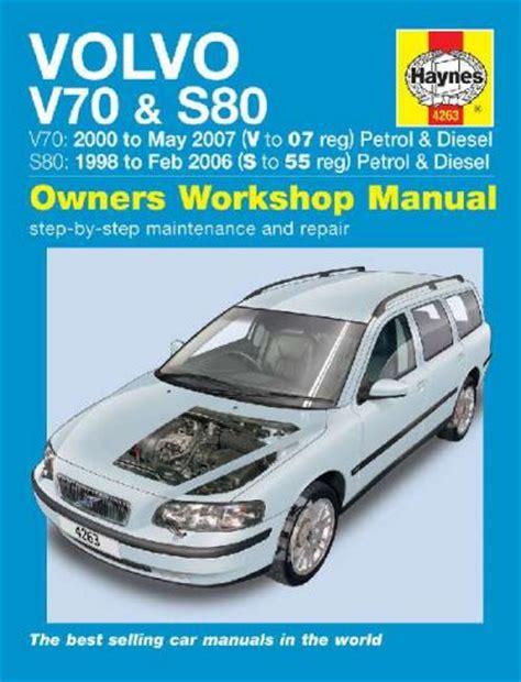Volvo Repair Manual S80 (ePUB/PDF) Free
