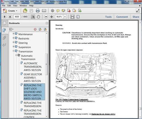 Volvo S40 Repair Manual Free (ePUB/PDF) Free