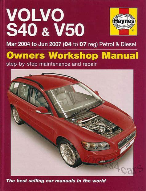 Volvo V50 Manual (ePUB/PDF)