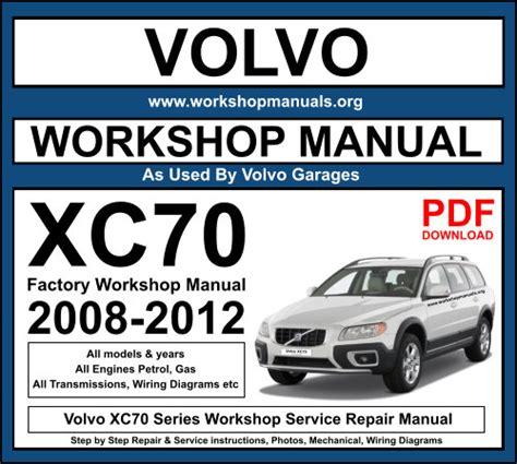 Volvo Xc70 Service Manual (ePUB/PDF) Free